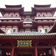 BuddhTooth Relic Temple in ChinTown Singapore — Stock Photo #25401691