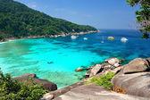 Paradis tropical, les îles similan, mer d'andaman, Thaïlande — Photo