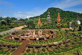 Nong nooch bahçe pattaya, tayland — Stok fotoğraf