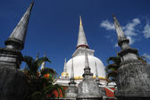 Phra Baromathat Chedi in Nakorn Sri Thammarat — Stock Photo
