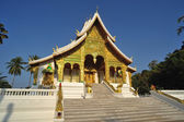 Buddhist Temple in Luang Prabang Royal Palace, Laos — Stock fotografie
