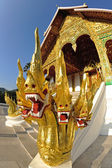 Buddhist Temple in Luang Prabang Royal Palace, Laos — Stok fotoğraf