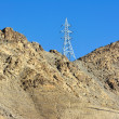 Stock Photo: Electricity post in Leh, Ladakh - far Norther part of India