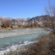 Stock Photo: Indus River, Ladakh, India