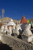 Stupa lamayuru manastırı ladakh, türkiye'de — Stok fotoğraf