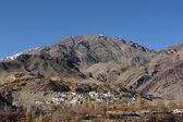 Landscape with mountain at Ladakh, India — Stock Photo