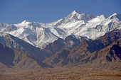 Leh in Ladakh - the far Norther part of India — Stock Photo