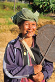 MAEHONGSON, THAILAND - NOVEMBER 20 : unidentified woman hill tr — Foto Stock