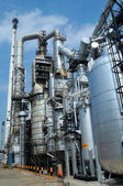Oil Refinery factory morning  — Stock Photo