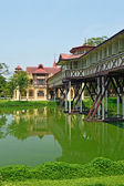 SanamJan palace, an attraction tourist place in Nakornpathom, Th — Stock Photo