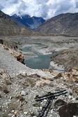 Karakoram mountain range, himalayas of Pakistan — Stock Photo