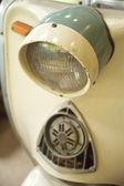 Close-up details retro motorrad — Stockfoto