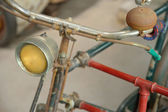 Detail of a Vintage Bicycle — Foto Stock