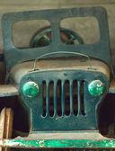 Close-up detail antique Pedal Car — Stock Photo