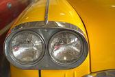 Szczegóły rocznika samochodu — Zdjęcie stockowe