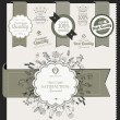 Premium quality labels — Vector de stock #13520472