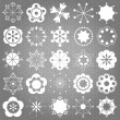 Christmas wallpaper and pattern — Stockvektor