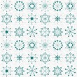 Christmas wallpaper and pattern — Stock vektor
