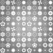 Stock vektor: Christmas wallpaper and pattern