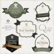 Premium Quality labels — Image vectorielle