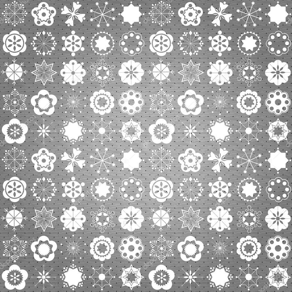 weihnachten wallpaper und muster stockvektor 14003912. Black Bedroom Furniture Sets. Home Design Ideas