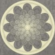 Mandala, ethnic pattern native — Vector de stock #21305575