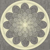 Mandala, ethnic pattern native — Vector de stock