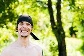 笑みを浮かべて男 — ストック写真