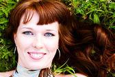 美しいブルネットの女性 — ストック写真