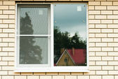 Window of the house — Stock Photo