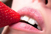 Sensual lips — Stock Photo