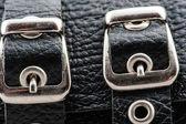 Fasteners handcuffs — Stock Photo