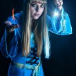 Female magician — Stock Photo #38573249