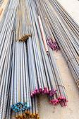 Steel rods. — Stock Photo