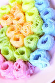 Colorful of Thai Vermicelli Eaten with Curry. — Stock Photo