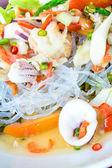 Thai Seafood Spicy Salad. — Stock Photo