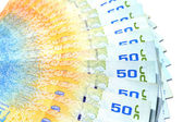 Lots of Thai Banknote used as a background. — Stock Photo