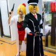 Stock Photo: Japanese anime cosplay in Comic Party 46th.