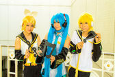Japanese anime cosplay in Comic Party 46th. — Stock Photo