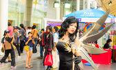 Bangkok - March 30 : Cosplayer from Princess Ai in Thai-Japan An — Photo