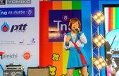 Bangkok - March 30 : Mini Concert by Kazumi Sekine in Thai-Japan — Stock Photo