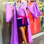 Постер, плакат: Bangkok March 30 : An unidentified Japanese anime cosplay pose