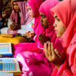 Children reading Qurfor ceremony in Graduation of Quran. — Stock Photo #24467555