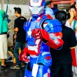 Cosplayer as characters Iron Mfrom Marvel Comics. — Stock Photo #26110149