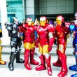 Cosplayer as characters Iron Mfrom Marvel Comics. — Stock Photo #26112095