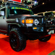 Постер, плакат: Toyota FJ Cruiser on display at Bangkok International Auto Salon 2013