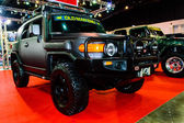 Toyota FJ Cruiser on display at Bangkok International Auto Salon 2013. — Stock Photo