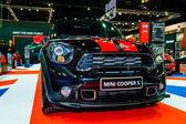 Mini Cooper S on display at Bangkok International Auto Salon 2013. — Stock Photo