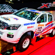 Постер, плакат: ISUZU D MAX on display at Bangkok International Auto Salon 2013