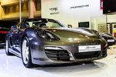 Porsche Boxster on display at Bangkok International Auto Salon 2013. — Stock Photo
